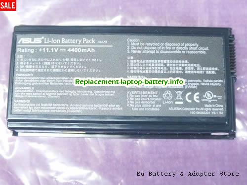 F5VL, ASUS F5VL Battery, 4400mAh 11.1V Black Li-ion