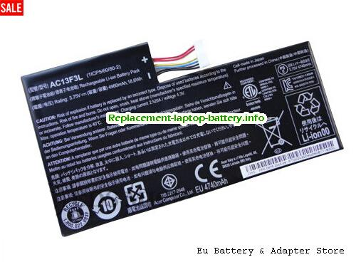 Netherlands AC13F3L Tablet Battery for ACER Iconia Tab A1 A1-810 8GB 16GB Tablet