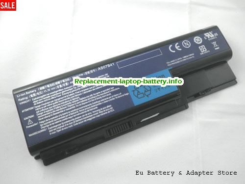 AS07B31, ACER AS07B31 Battery, 4400mAh 11.1V Black Li-ion