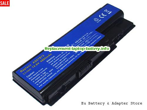 AS07B31, ACER AS07B31 Battery, 4400mAh 14.8V Black Li-ion