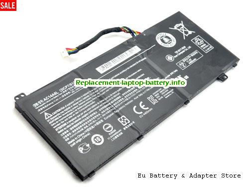 31CP76180, ACER 31CP76180 Battery, 51Wh 11.4V Black Li-ion