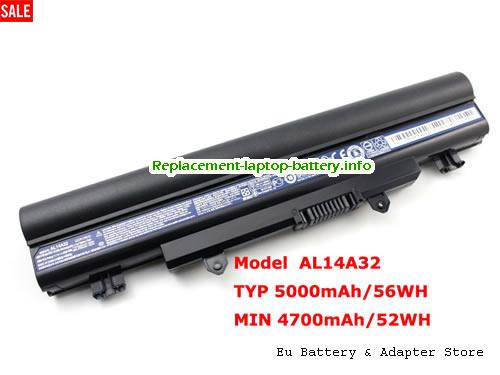 KT.00603.008, ACER KT.00603.008 Battery, 5000mAh 11.1V  Li-ion