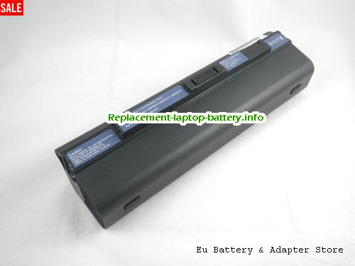 Acer Aspire One AO751h-1061, ACER Acer Aspire One AO751h-1061 Battery, 10400mAh 11.1V Black Li-ion