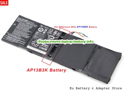 4ICP6/60/78, ACER 4ICP6/60/78 Battery, 3460mAh, 53Wh  15V Black Li-Polymer