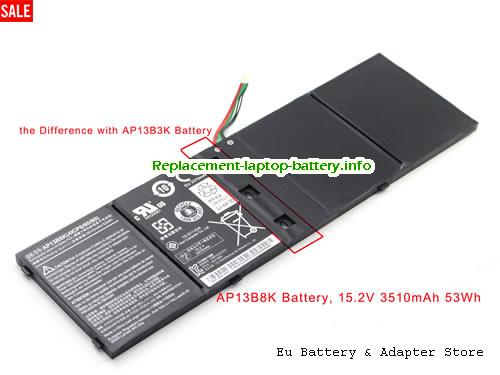 Netherlands New Genuine AP13B8K Battery For Acer Aspire M5-583 V5-573 Laptop 53Wh