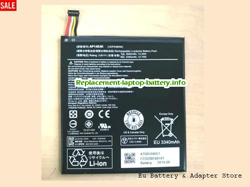 Netherlands Acer AP14E4K Iconia One7 B1-750 Laptop Battery
