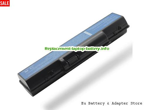 AS07A72, ACER AS07A72 Battery, 8800mAh 11.1V Black Li-ion
