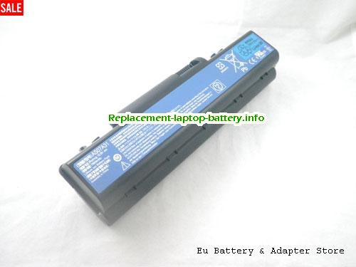 AS07A72, ACER AS07A72 Battery, 7800mAh 10.8V Black Li-ion