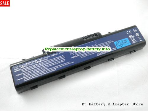 AS07A72, ACER AS07A72 Battery, 4400mAh 11.1V Black Li-ion