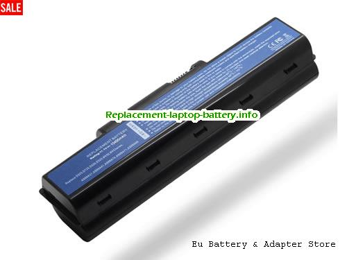 AS09A71, ACER AS09A71 Battery, 10400mAh 11.1V Black Li-ion