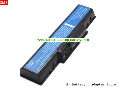 AS09A70, ACER AS09A70 Battery, 5200mAh 11.1V Black Li-ion