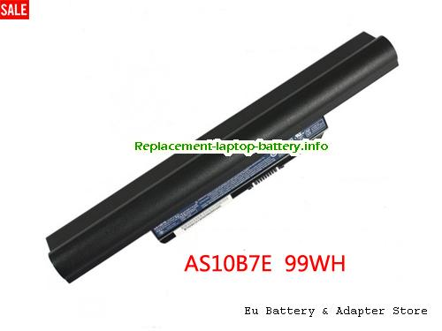 4820T-333G25Mn, ACER 4820T-333G25Mn Battery, 9000mAh 10.8V Black Li-ion