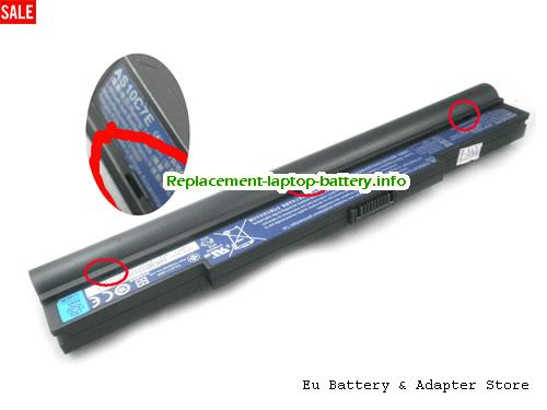4ICR19/66-2, ACER 4ICR19/66-2 Battery, 6000mAh, 88Wh  14.8V Black Li-ion