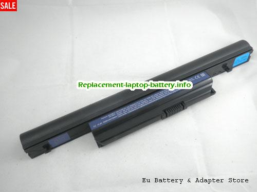 4820T-333G25Mn, ACER 4820T-333G25Mn Battery, 5200mAh 11.1V Black Li-ion