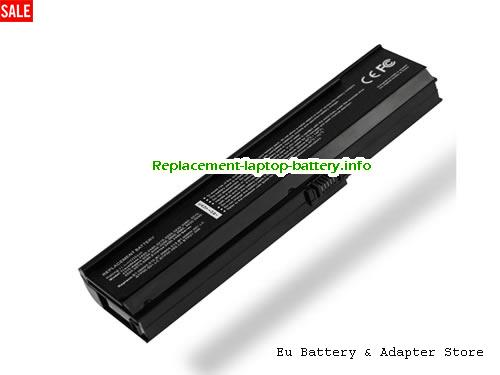 3UR18650Y-3-QC262, ACER 3UR18650Y-3-QC262 Battery, 5200mAh 11.1V Black Li-ion