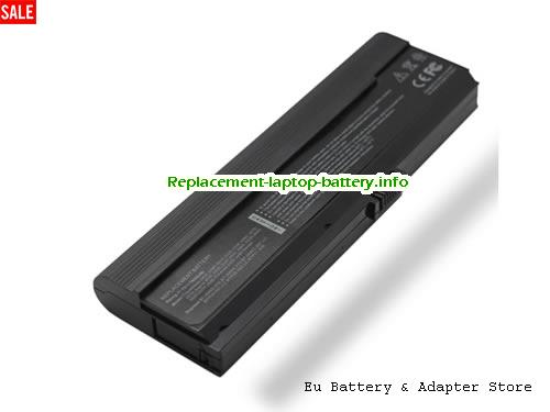 3UR18650Y-3-QC262, ACER 3UR18650Y-3-QC262 Battery, 7800mAh 11.1V Black Li-ion