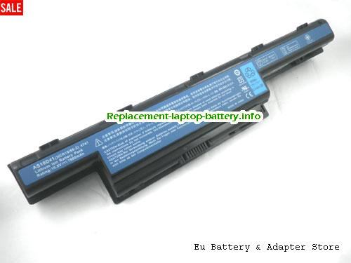 8572, ACER 8572 Battery, 4400mAh 10.8V Black Li-ion