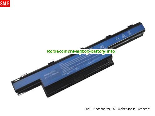 934T2078F, ACER 934T2078F Battery, 5200mAh 10.8V Black Li-ion