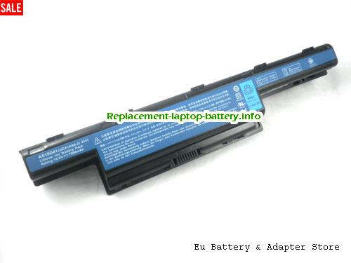 8572, ACER 8572 Battery, 7800mAh 10.8V Black Li-ion