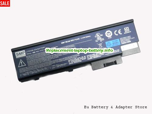 1694, ACER 1694 Battery, 2200mAh 14.8V Black Li-ion