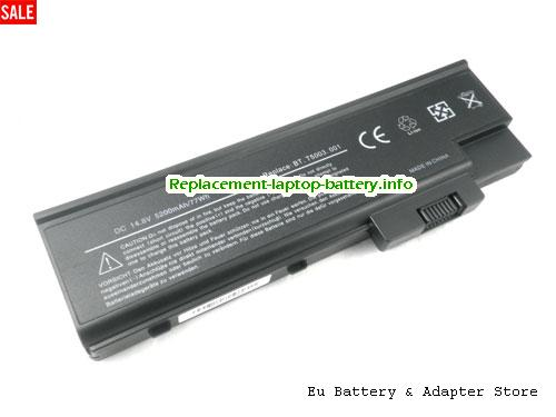 L18650-8APT, ACER L18650-8APT Battery, 4400mAh 14.8V Black Li-ion