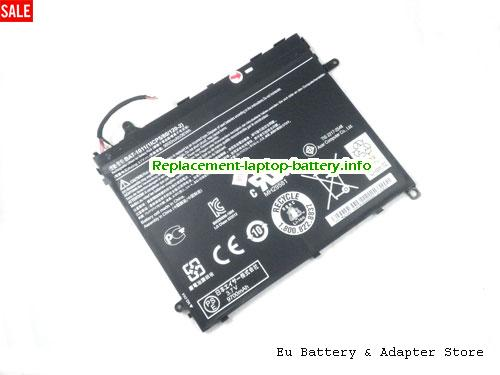 1ICP5/80/120-2, ACER 1ICP5/80/120-2 Battery, 9800mAh, 36Wh  3.7V Black Li-Polymer