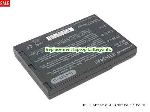60.41H15.001, ACER 60.41H15.001 Battery, 4400mAh 14.8V Black Li-ion