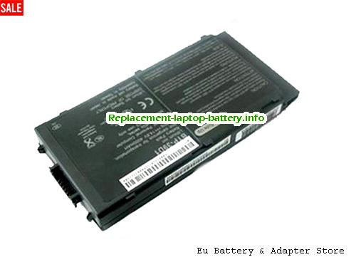 60.49H10.001, ACER 60.49H10.001 Battery, 4400mAh 14.8V Black Li-ion