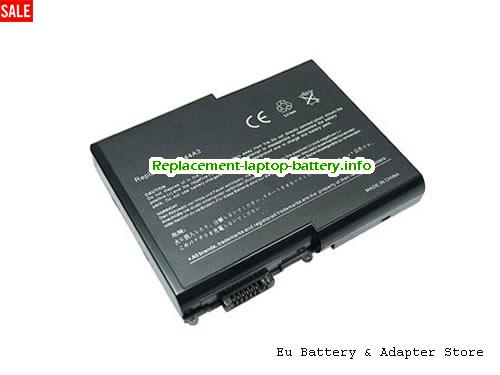 909-2220, ACER 909-2220 Battery, 4400mAh 14.8V Black Li-ion