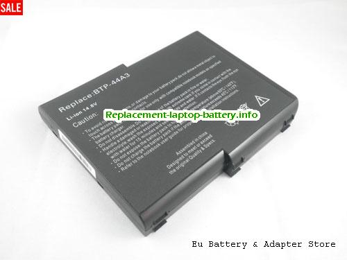 909-2220, ACER 909-2220 Battery, 6600mAh 14.8V Black Li-ion