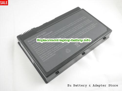 91.49Y28.002, ACER 91.49Y28.002 Battery, 5200mAh 14.8V Grey Li-ion