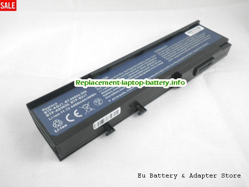 BTP-AOJ1, ACER BTP-AOJ1 Battery, 4400mAh 11.1V Black Li-ion