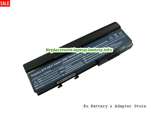 BTP-AOJ1, ACER BTP-AOJ1 Battery, 6600mAh 11.1V Black Li-ion