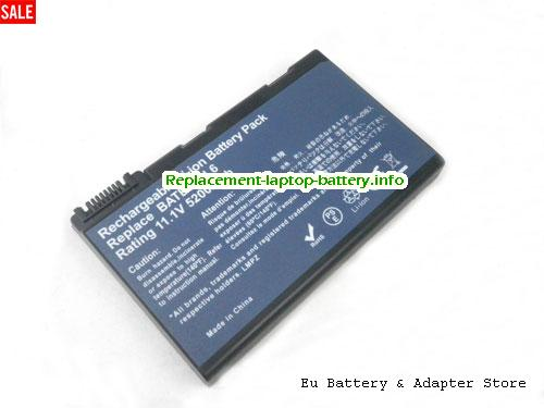 GRAPE42, ACER GRAPE42 Battery, 5200mAh 11.1V Black Li-ion