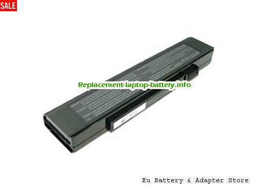 3UR18650F-2-QC134, ACER 3UR18650F-2-QC134 Battery, 4800mAh 11.1V Black Li-ion