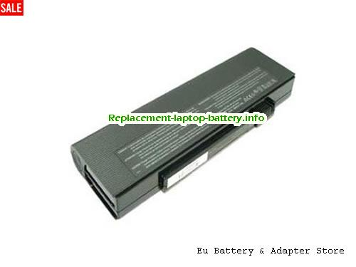 3UR18650F-2-QC134, ACER 3UR18650F-2-QC134 Battery, 7200mAh 11.1V Black Li-ion