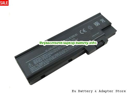 3002WLCi, ACER 3002WLCi Battery, 4400mAh 11.1V Black Li-ion