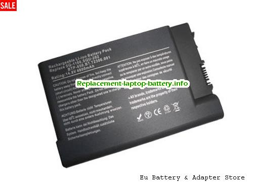 BT.FR107.001, ACER BT.FR107.001 Battery, 4400mAh 14.8V Black Li-ion