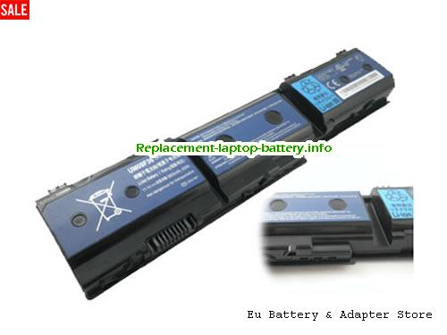1420p, ACER 1420p Battery, 5600mAh, 63Wh  11.1V Black Li-ion