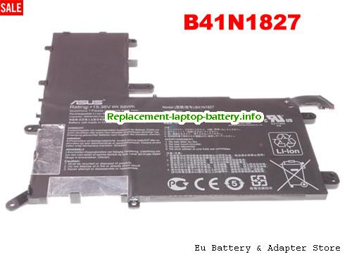 Netherlands Genuine Asus B41N1827 Battery Rechargeable Li-Polymer For UX562FA Series