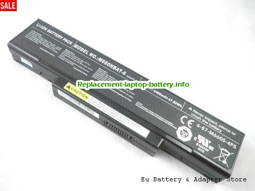 BTY-M66, MSI BTY-M66 Battery, 4400mAh, 47.52Wh  10.8V Black Li-ion