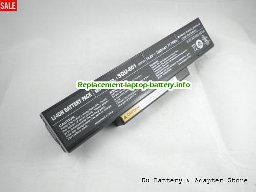 BTY-M66, MSI BTY-M66 Battery, 7200mAh, 77.76Wh  10.8V Black Li-ion