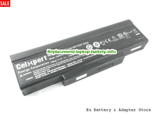 BTY-M66, MSI BTY-M66 Battery, 7200mAh 11.1V Black Li-ion