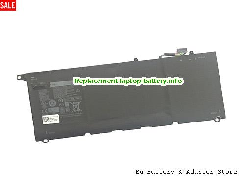 Netherlands 56WH 90V7W Battery For Dell XPS 13 9343 9350