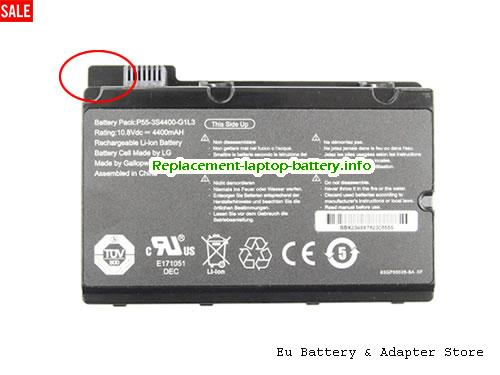 Netherlands Replacement Laptop Battery for  FUJITSU 3S3600-S1A1-07, 3S4400-C1S5-07, 3S4400-S1S5-05, 3S4400-S1S5-07,  Black, 4400mAh 10.8V