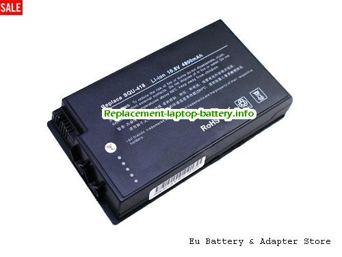 Netherlands Replacement Laptop Battery for  ADVENT EAA-88, Advent 7082, Advent 7104, Advent 7106,  Black, 4800mAh 10.8V