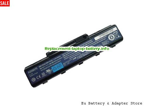 AS09A71, ACER AS09A71 Battery, 5200mAh 11.1V Black Li-ion