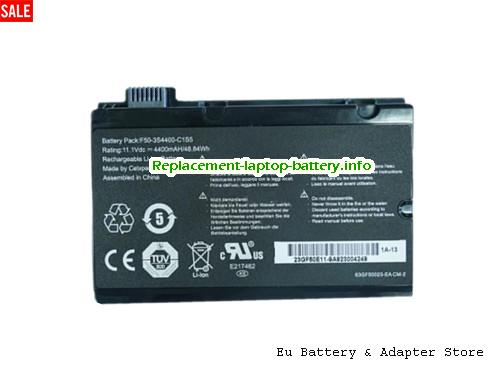 Netherlands F50-3S4400-C1S5 Battery For HASEE A530-T44 L4300D1 Series Laptop