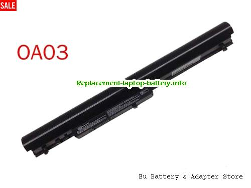 HSTNN-LB5S, HP HSTNN-LB5S Battery, 2612mAh, 31Wh  11.1V Black Li-ion