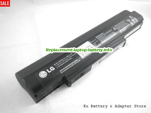 LB62117B, LG LB62117B Battery, 5200mAh, 58.5Wh  11.25V Black Li-ion